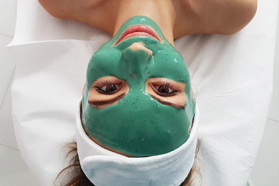 Maska algowa - Kosmetolożki