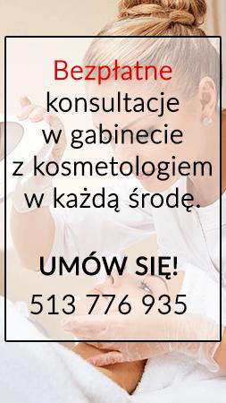 Bezpłatne konsultacje z kosmetologiem