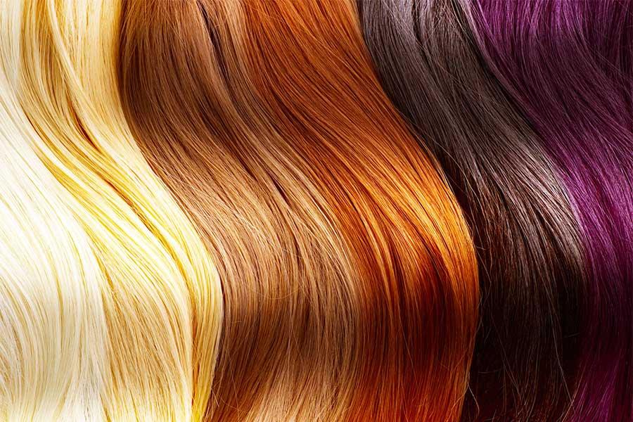 Farbowanie włosów - rodzaje